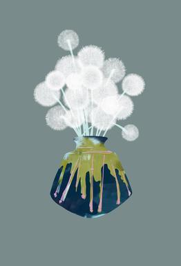 Dandelions -Alubild