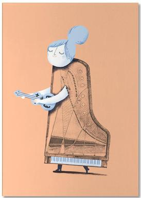 Lady in G Major bloc-notes