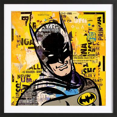 Bruce - Poster in Wooden Frame