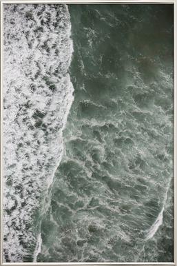 Oceanic 01 -Poster im Alurahmen