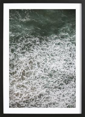 Oceanic 03 -Bild mit Holzrahmen