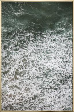 Oceanic 03 -Poster im Alurahmen
