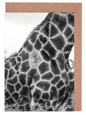 Giraph detail -Grußkarten-Set