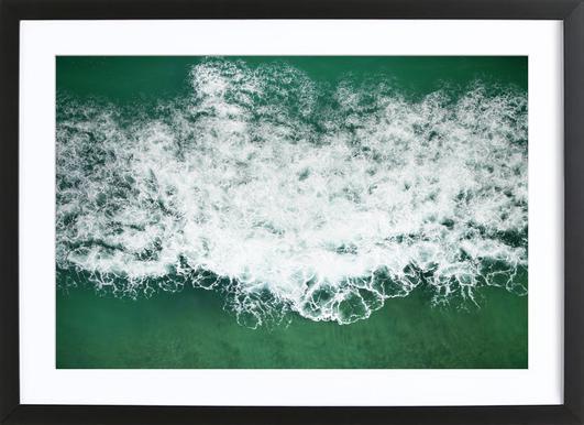 Wavescapes 01 ingelijste print