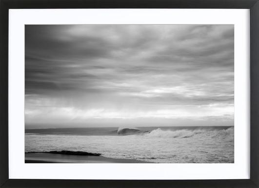 South Coast -Bild mit Holzrahmen