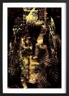 Hadron Epoch Framed Print