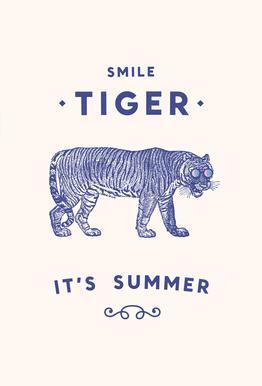 Smile Tiger Acrylic Print