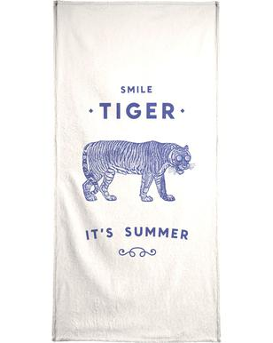 Smile Tiger Bath Towel
