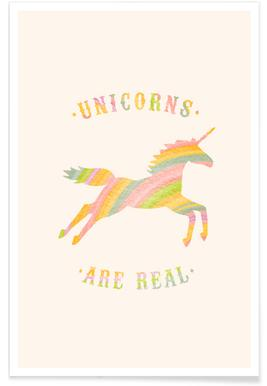 Unicorns Are Real II -Poster