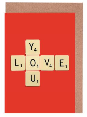 I Love You Greeting Card Set