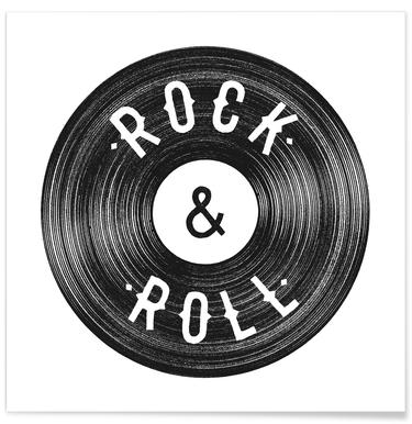 Rock & Roll -Poster
