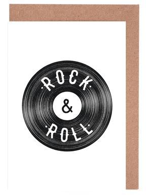 Rock & Roll Greeting Card Set