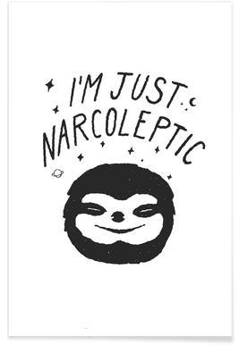 I'm Just Narcoleptic affiche