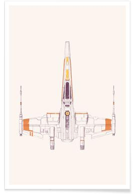 X Wing -Poster