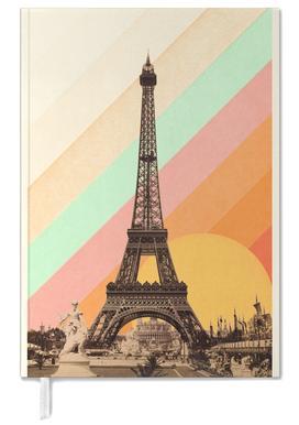 Eiffel Tower Rainbow -Terminplaner