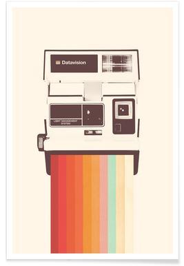 Instant Camera Rainbow affiche