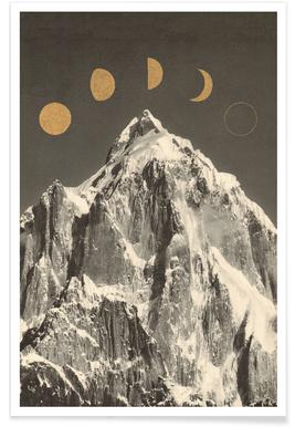 Phases Moon poster