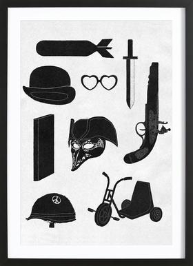 2011 - A Kubrick Odyssey Framed Print