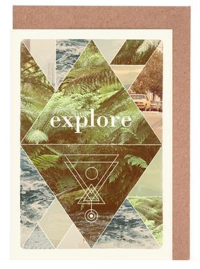 Explore II -Grußkarten-Set