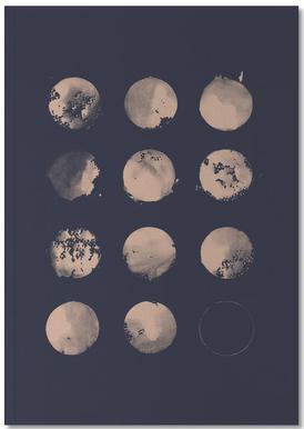 Twelve Moons Notebook