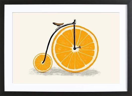 Orange Wheels