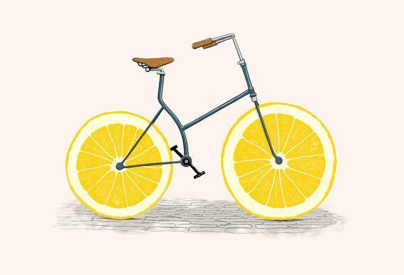 Lemonade alu dibond