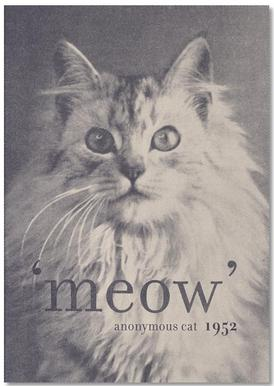 Famous Quote - Cat Notepad