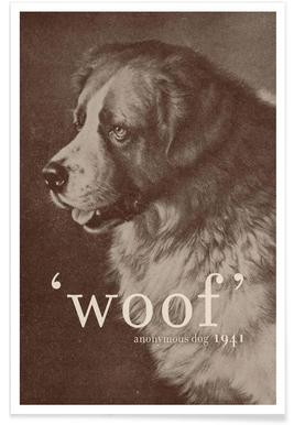 Famous Quote - Dog -Poster