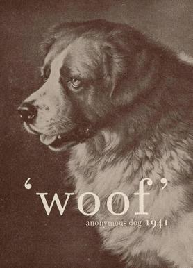 Famous Quote - Dog Canvas Print