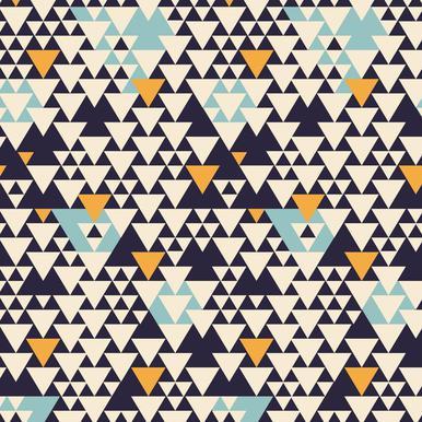 Pattern 3 Aluminium Print