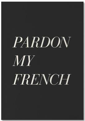 Pardon My French Notebook