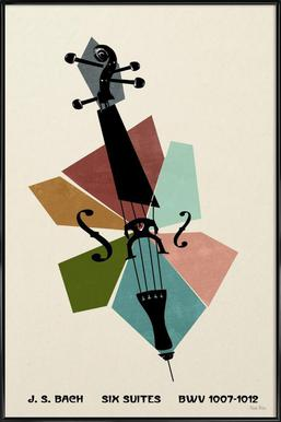 Bach - Cello Suites Framed Poster