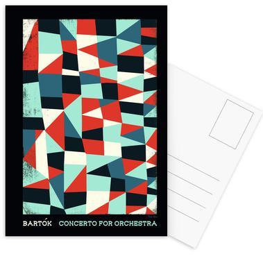 Bartok - Concerto for Orchestra Postcard Set