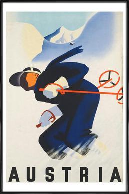 austria2 Framed Poster