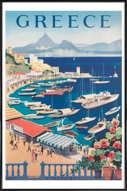 greece2 Framed Poster