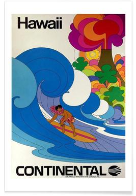 hawaii4 - Premium Poster