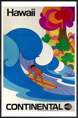 hawaii4 Framed Poster