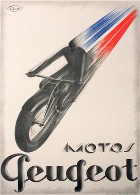motorcycle2 -Leinwandbild