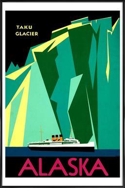 americaAlaska Framed Poster