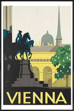 vienna Framed Poster