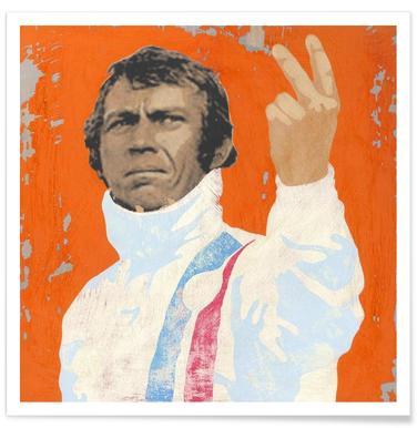 Steve McQueen - Premium poster