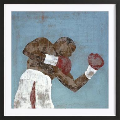 Boxer 1 Framed Print