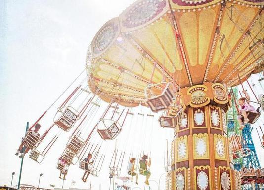 Ride the Sky 2 -Leinwandbild