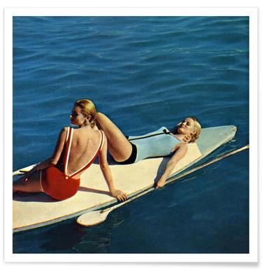 Tanning Boards Poster