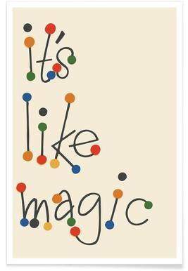 It's Like Magic Plakat