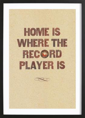 Home is where… Framed Print