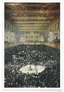 boxing in vienna -Poster