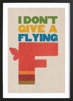 flyingf Framed Print