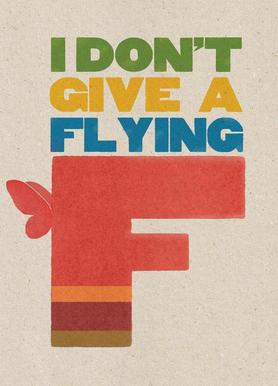 flyingf -Leinwandbild