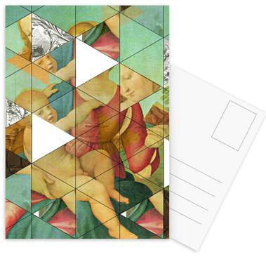 Raphael´s Mother&Child get mixed Postcard Set